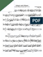 Benedetto Marcello - Adagio and Allegro