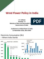Wind Power Conf. by JKJ MNRE 21112016