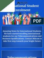 Study in Australia - International Student Enrolment