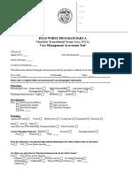 Case Management Assessment Form