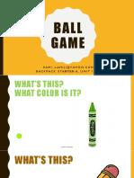 Ball Game Starter