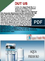 Aqua Fresh LG RO Service Centre in Janakpuri. Contact us:9773723986