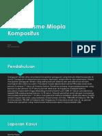 Miopia Astigmatisme Kompositus