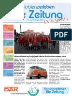 Sonderzeitung Drachenbootrennen Koblenz 2010