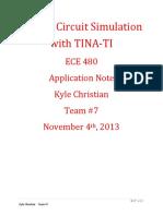 Application Note (Tina-TI)