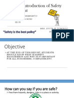 Overview of Safety Management