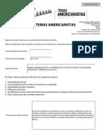 Formulario de evaluación de artículos