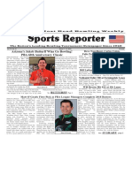 March 7 - 13, 2018  Sports Reporter