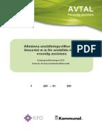 Kollektivavtal KFO 2013 2016 0
