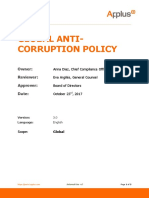 AST Eng Global Anticorruption Procedure