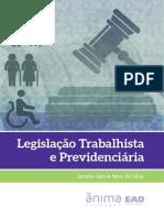 Livro Legis Traba e Previ