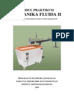 Modul Praktikum Mekanika Fluida II 2017-2018