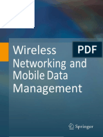 Wireless Networking and Mobile Data Management