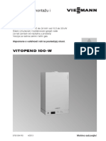 Vitopend 100 W WH1D RLA (24 30 Kw) manual SRB