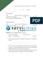 Contrato de Arrendamiento de Maquinaria y Equipos