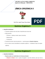 Química Orgânica II