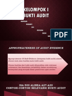 Kelompok i Bukti Audit