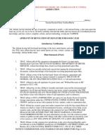 Affidavit of Revocation of Signature for Good Cause