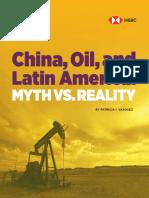 China, Oil, and Latin America