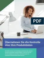 Übernehmen Sie die Kontrolle über Ihre Produktdaten mit Perfion PIM