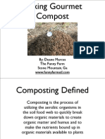 Making Gourmet Compost