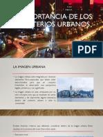 Importancia de Los Criterios Urbanos