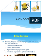 Lipid Analysis
