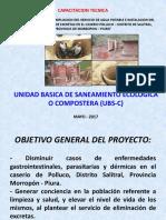 Exposicion Uso de Letrinas Composteras