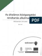 Az ÁKR Alkalmazása - Módszertani Útmutató