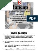 Seminario Detección Moneda Falsa Nacional