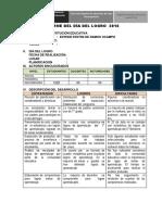 Informe Dia Del Logro 2016