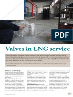 Valves in LNG Service