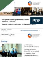El Protocolo Universitario Portugués Coimbra Artur Filipe Dos Santos - Congreso Protocolo Universidad de Vigo