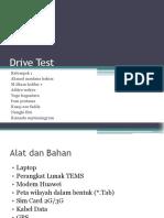 Drive Test 1