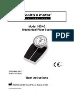 Manual Balaqnza Healt o Meter
