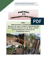 Informe Mensual Chontabamba-cedron