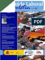 Boletin CIG Saude Laboral Nº 26. Version Galego (1)