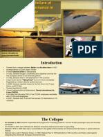Analysing Failure of Swiss Air
