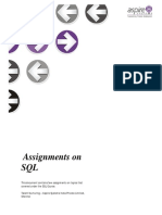 Assignment on SQL (2)