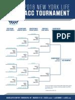 2018 ACC Tournament bracket
