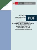 LINEAMIENTOS PARA LA ELABORACIÓN DEL PLAN MULTIANUAL DE MANTENIMIENTO DE LA INFRAESTRUCTURA Y EL.pdf