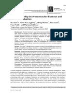 British Journal of Educational Psychology Volume 85 Issue 4 2015 [Doi 10.1111_bjep.12089] Shen, Bo; McCaughtry, Nate; Martin, Jeffrey; Garn, Alex; Kulik, -- The Relationship Between Teacher Burnout