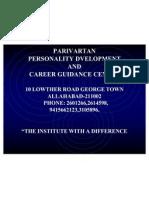 Parivartan Personality Dvelopment