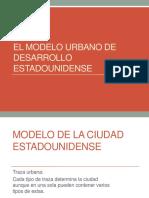 El Modelo Urbano de Desarrollo Estadounidense