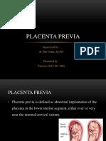 99454 Placenta Previa