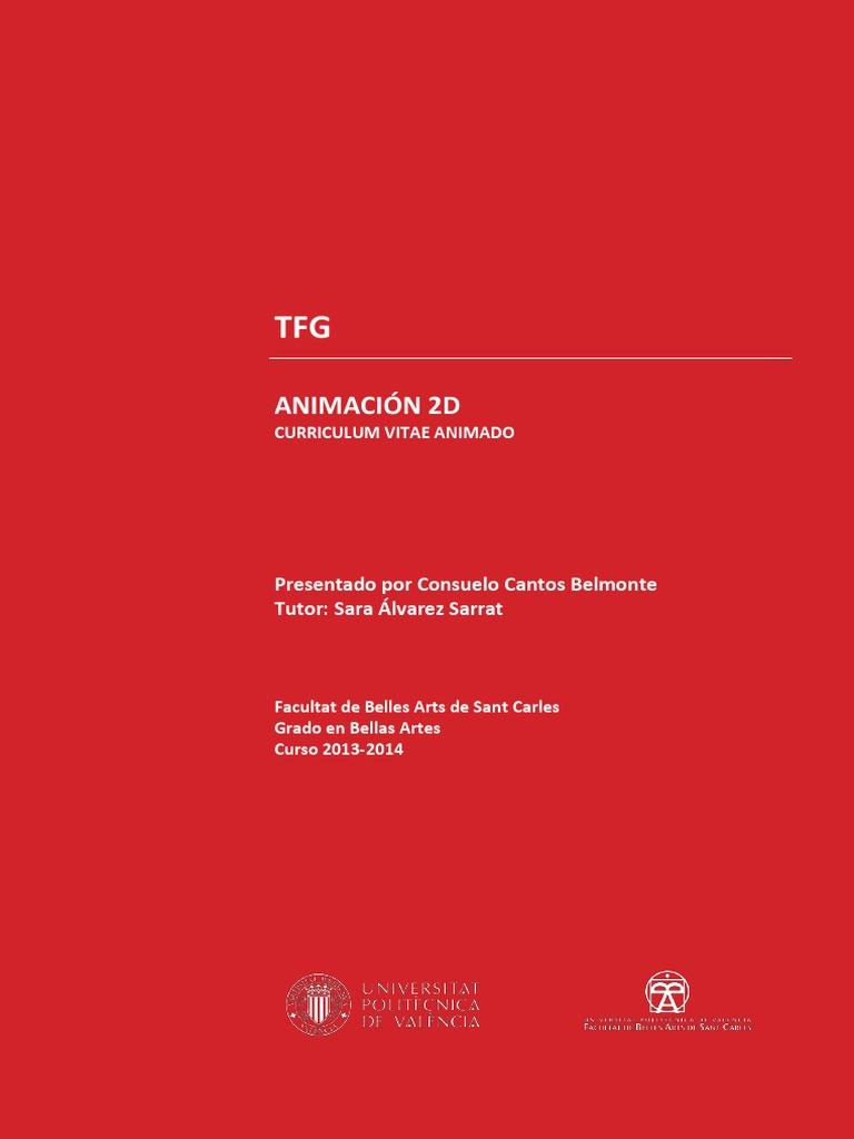 Cantos Belmonte Consuelo - Montaje Con Plantilla TFG