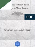 TAJUK 14 - Komunikasi Berkesan Dalam Bilik Darjah Mesra Budaya