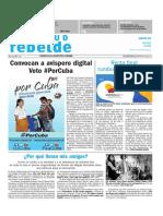 PORTADA Juventud Rebelde 3 de marzo de 2018