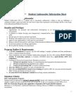 Application Form 2018 (FINAL) Student Ambassadors Example Form
