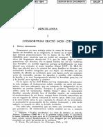 Consortium Ercto non Cito